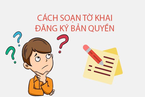 Huong Dan Soan To Khai Dang Ky Ban Quyen Tac Gia