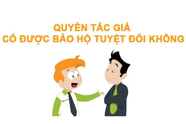 Quyen Tac Gia Co Duoc Bao Ve Tuyet Doi Khong