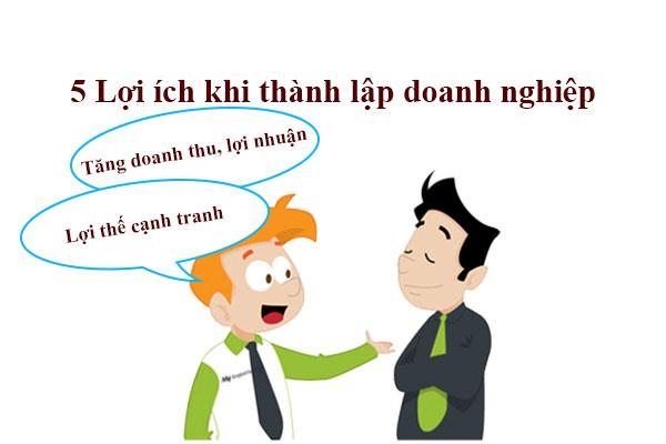 05 Loi Ich Khi Thanh Lap Doanh Nghiep