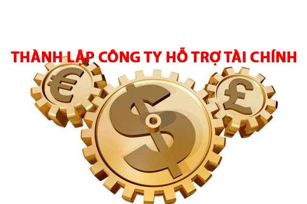 Thanh Lap Cong Ty Ho Tro Tai Chinh