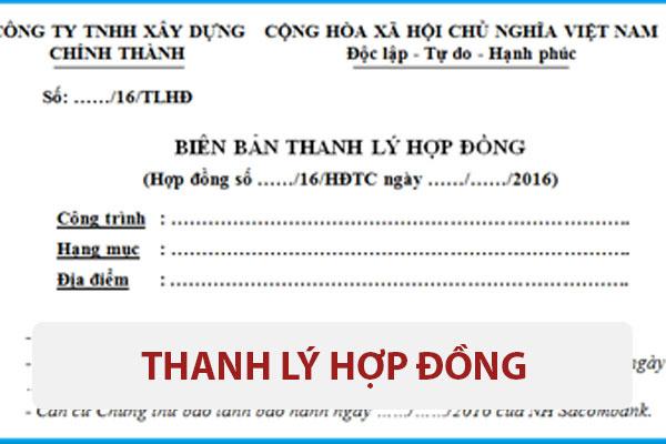 Thanh Ly Hop Dong