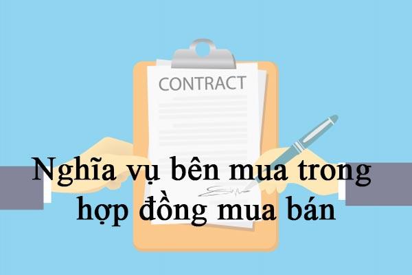 Nghia Vu Ben Mua Trong Hop Dong Mua Ban